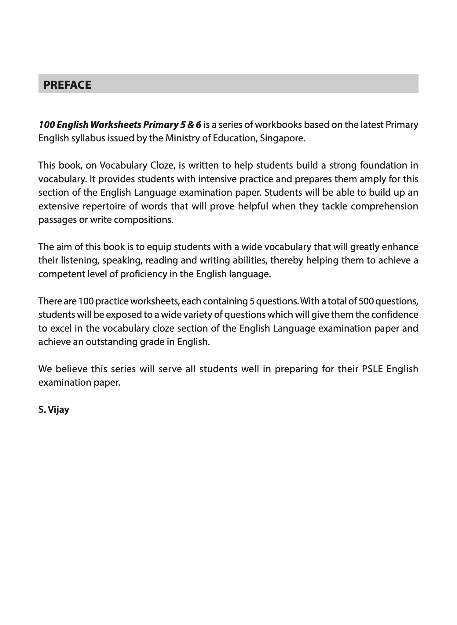 hight resolution of 100 English Worksheets Primary 5 \u0026 6: Vocabulary Cloze   CPD Singapore  Education Services Pte Ltd