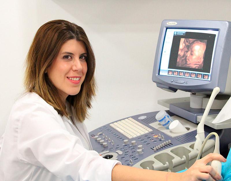 Ecografía de obstetricia de alta resolución