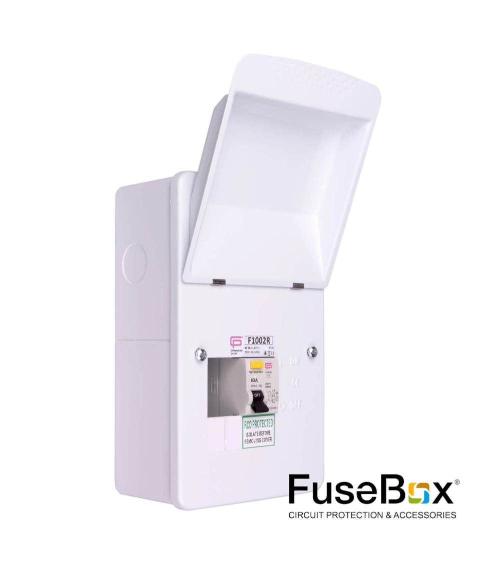 medium resolution of rcd incomer 2way metal sku f1002r category fusebox consumer units