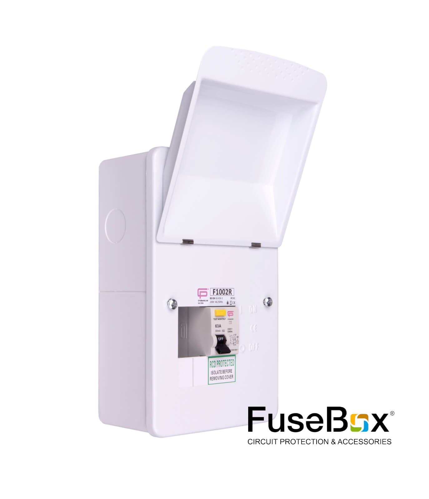 hight resolution of rcd incomer 2way metal sku f1002r category fusebox consumer units