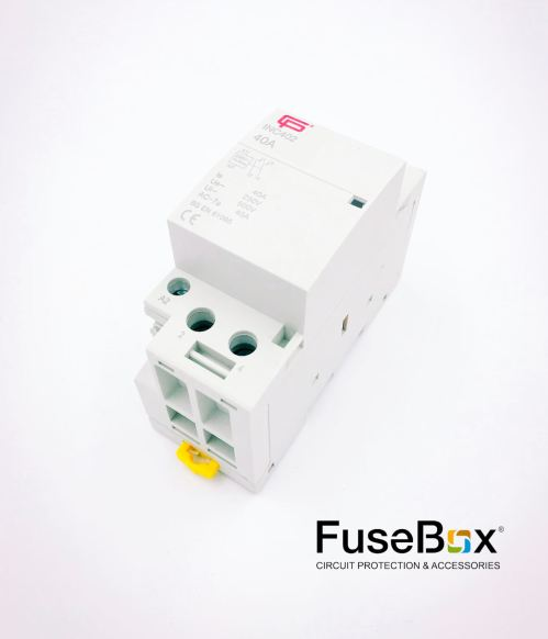 small resolution of 40a 2 pole n o installation contactor