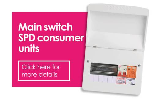 small resolution of fusebox main switch spd consumer units