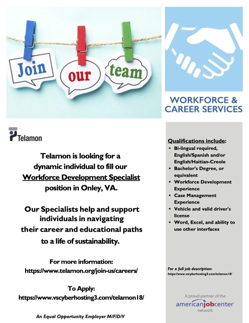 Telamon is hiring