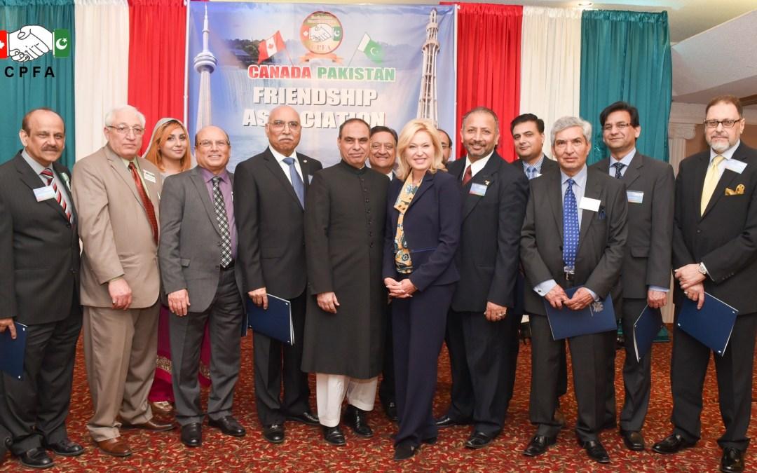 CANADA PAKISTAN FRIENDSHIP ASSOCIATION CELEBRATES 76TH PAKISTAN DAY