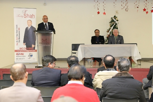 "CPFA organized ""An Evening of Colours"" on December 23, 2016 in Mississauga"