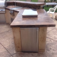 Outdoor Kitchens and Fireplaces - CPF Custom Concrete and ...