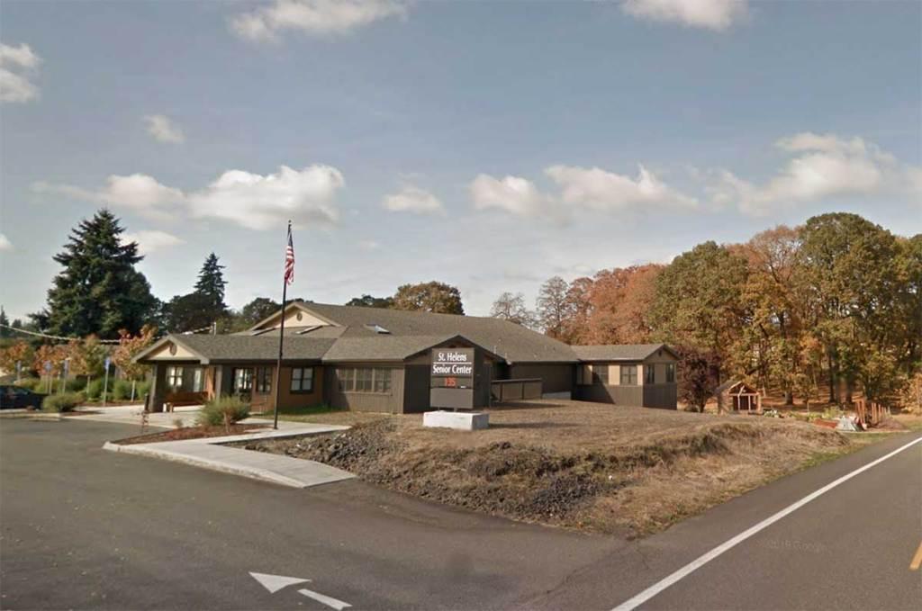 building St. Helens Oregon senior center meals