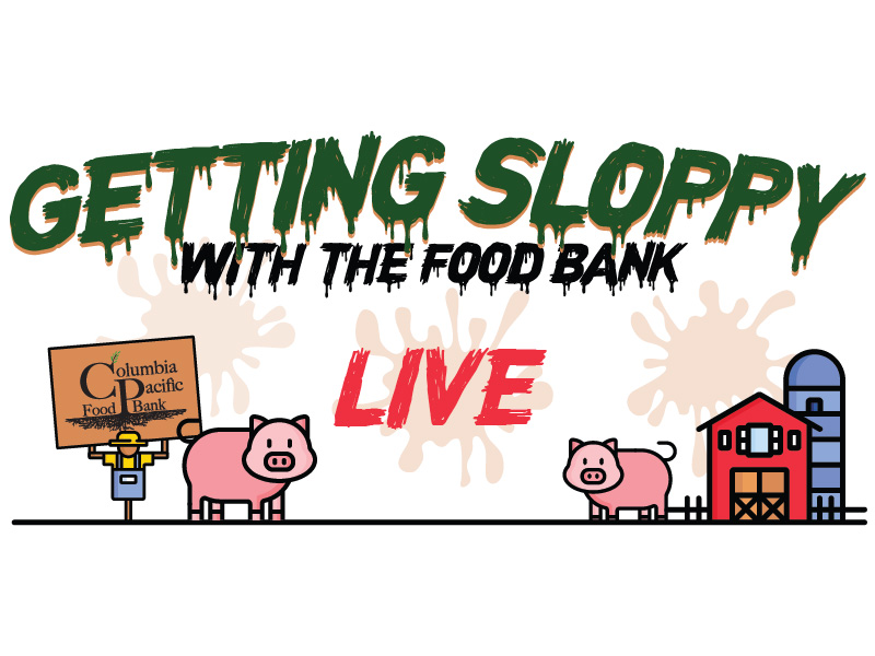 Getting Sloppy With The Food Bank 2021