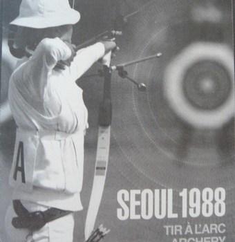 Affiche JO Seoul 1988