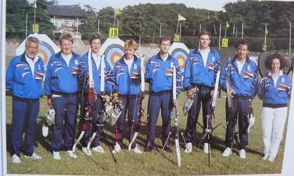 Equipe de France JO Seoul 1988