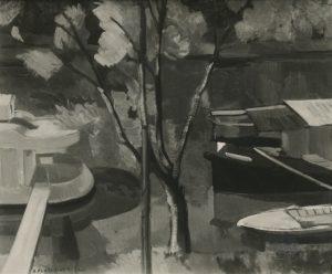 Flandrinck Paysage, rivière, 1944 FNAC 19258 Centre national des arts plastiques © droits réservés / CNAP /