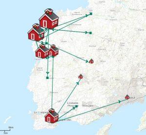Migration de mes ancêtres bretons