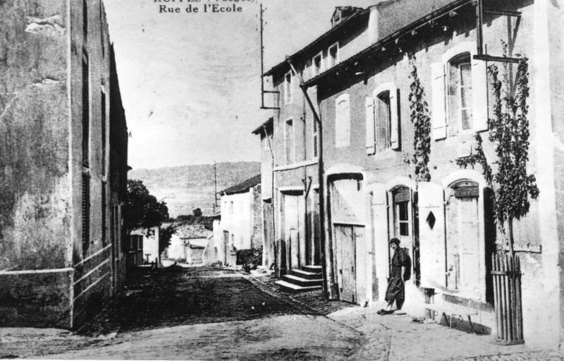 RUPPES Rue des Ecoles 1910