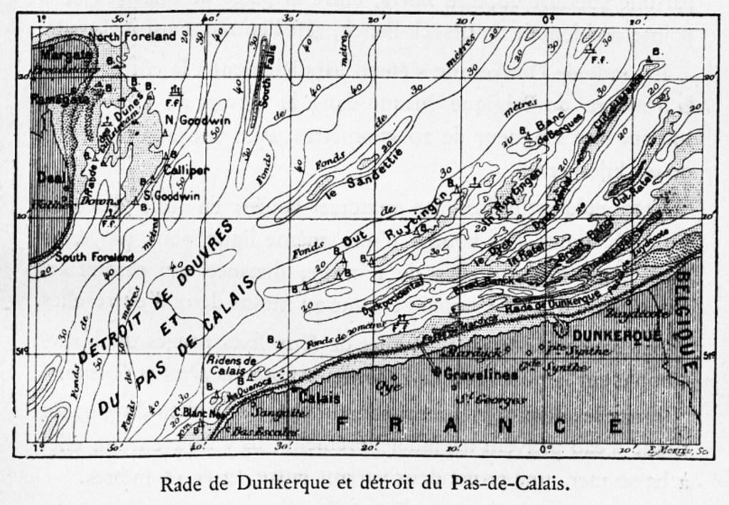 Rade de Dunkerque et détroit du Pas-de-Calais
