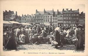 Saint-Omer : marché aux légumes