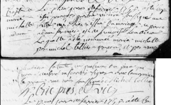 Bapteme_Marie_ADAM_1758_Saint-Baudelle