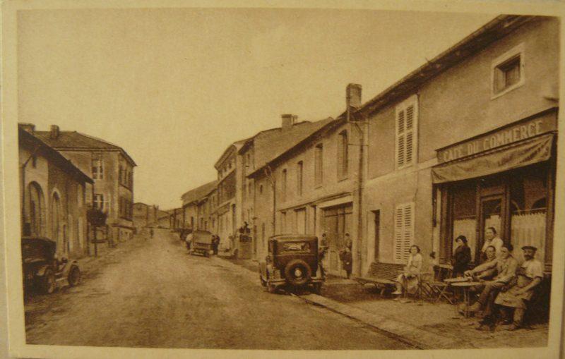 Pagny-la-Blanche-Cote Rue des Halles