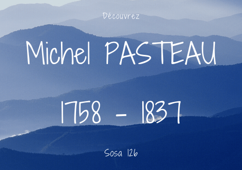 Michel PASTEAU sosa 126