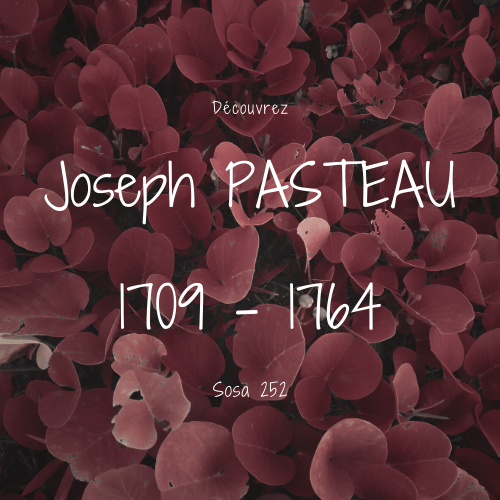 Joseph PASTEAU sosa 252