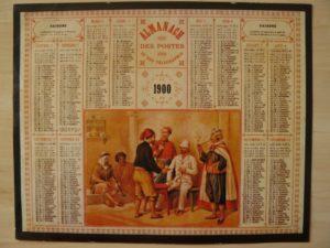 Calendrier 1900