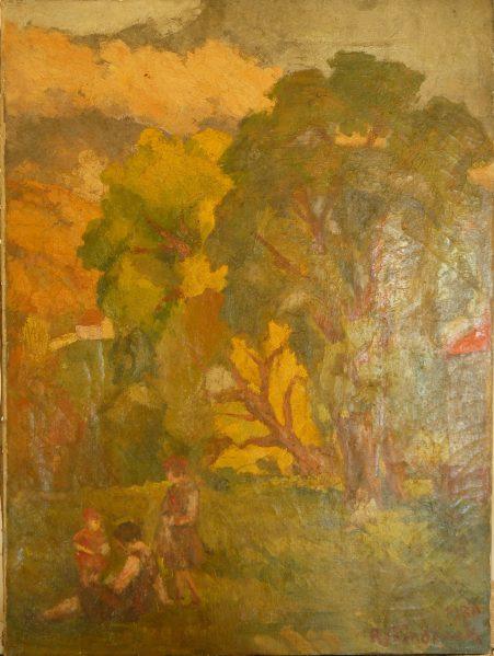 Tableau Flandrinck Roger 1930