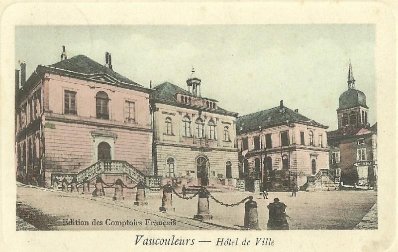 Vaucouleurs Hotel de Ville 1910