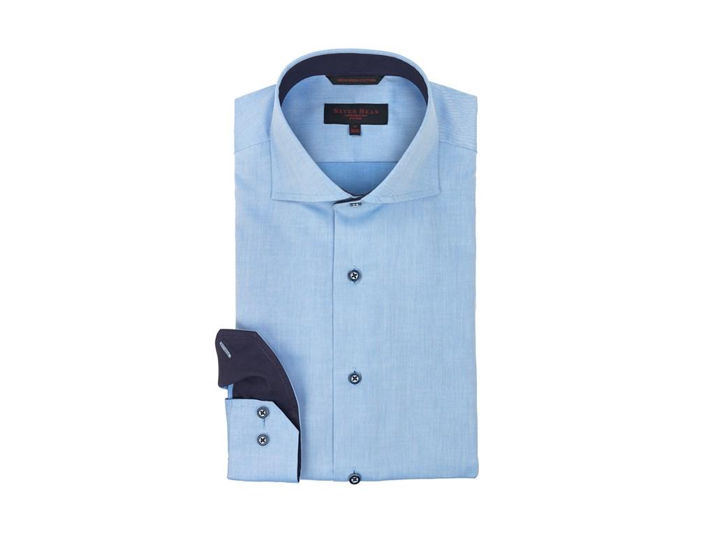 Seven Seas Skjorte Stardust Blue CPH Promotion