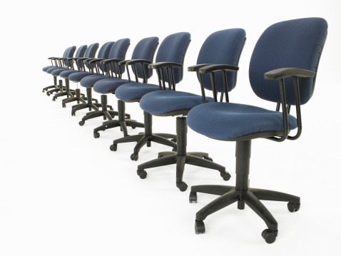 revolving chair for study blue and a half recliner the dimensions of office chairs hunker