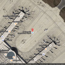 Indianapolis International Airport Map