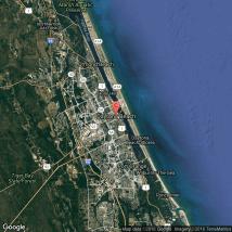 Daytona Beach Golf Courses Map