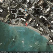 Google Maps Waikiki Beach Hotels