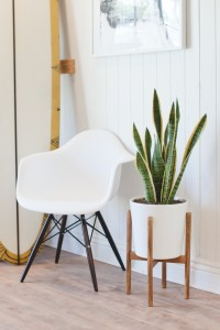 How to Build a Midcentury-Inspired Plant Stand | Hunker