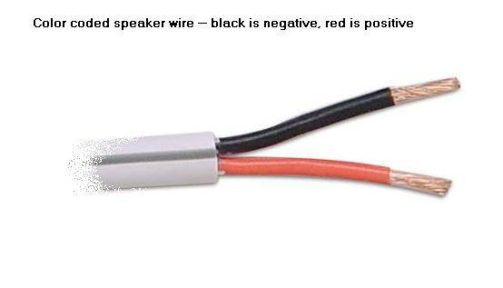 how to connect speaker wires to an rca jack
