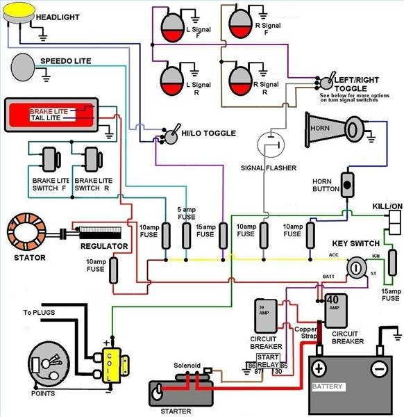 Basic Auto Ignition Wiring Diagram Tamahuproject Org