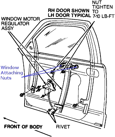 Door Regulator & Click Image To See An Enlarged View
