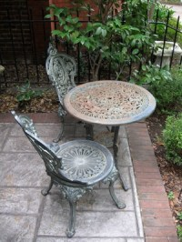 How to Fix Wrought Iron Patio Furniture | HomeSteady