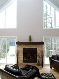 How High Should a Fireplace Mantel Be? | eHow