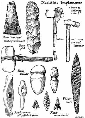 What Tools Did the Archaic Indians Use That the Paleo