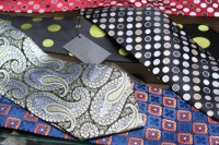 How to Sew a Vintage Tie Table Runner | eHow