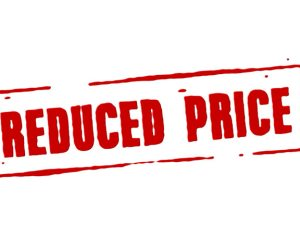 Hurry! We have Reduced our Price (minimum bid)