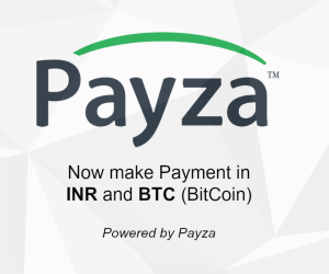 New Payment Options: Payza INR & Payza BTC - Now make Payment in INR & BTC (BitCoin) Currency via Payza