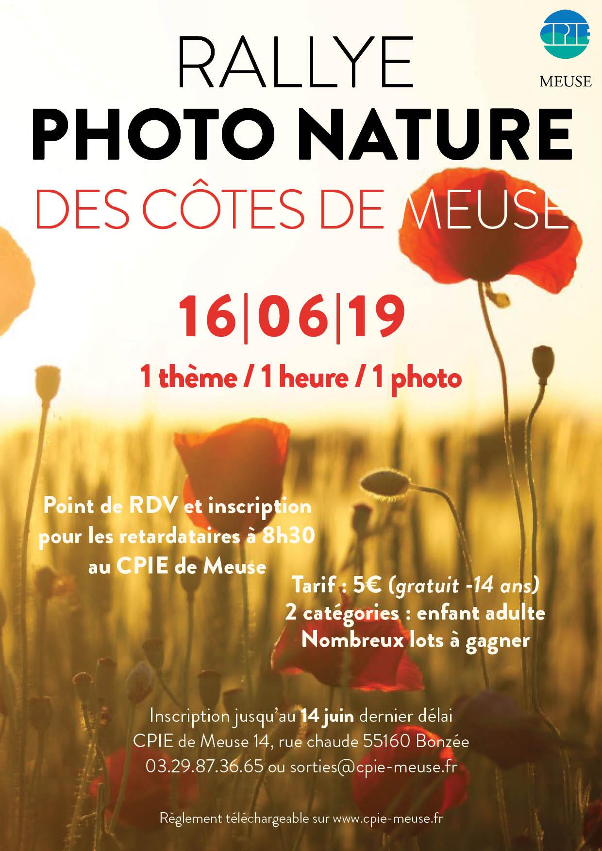Rallye photo nature des Côtes-de-Meuse 2019