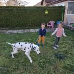 Mathilde et gabriel, 6 et 4 ans