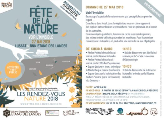 thumbnail of Flyer Fête de la nature 27 mai 2018