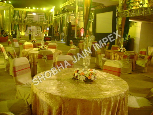 chair covers manufacturers in delhi pottery barn kids doll high golden cover exporter manufacturer