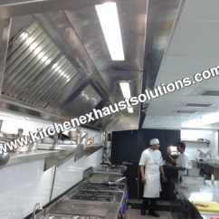 Commercial Kitchen Hood Square Island Exporter