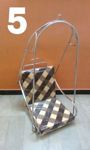 steel chair jhula purple desk single ss swing exporter manufacturer