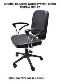 revolving chair in vadodara cream leather occasional chairs office dealers traders