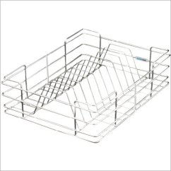 Kitchen Basket Basics Chicken Stock Triple Pull Out