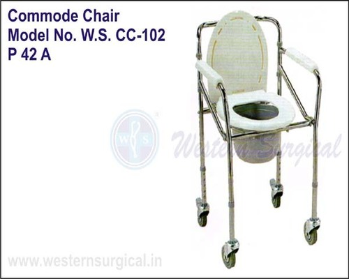 folding chair in rajkot hanging clear wheel commode western surgical happy home 1st floor b h rmc kanak road 23 karanpara india